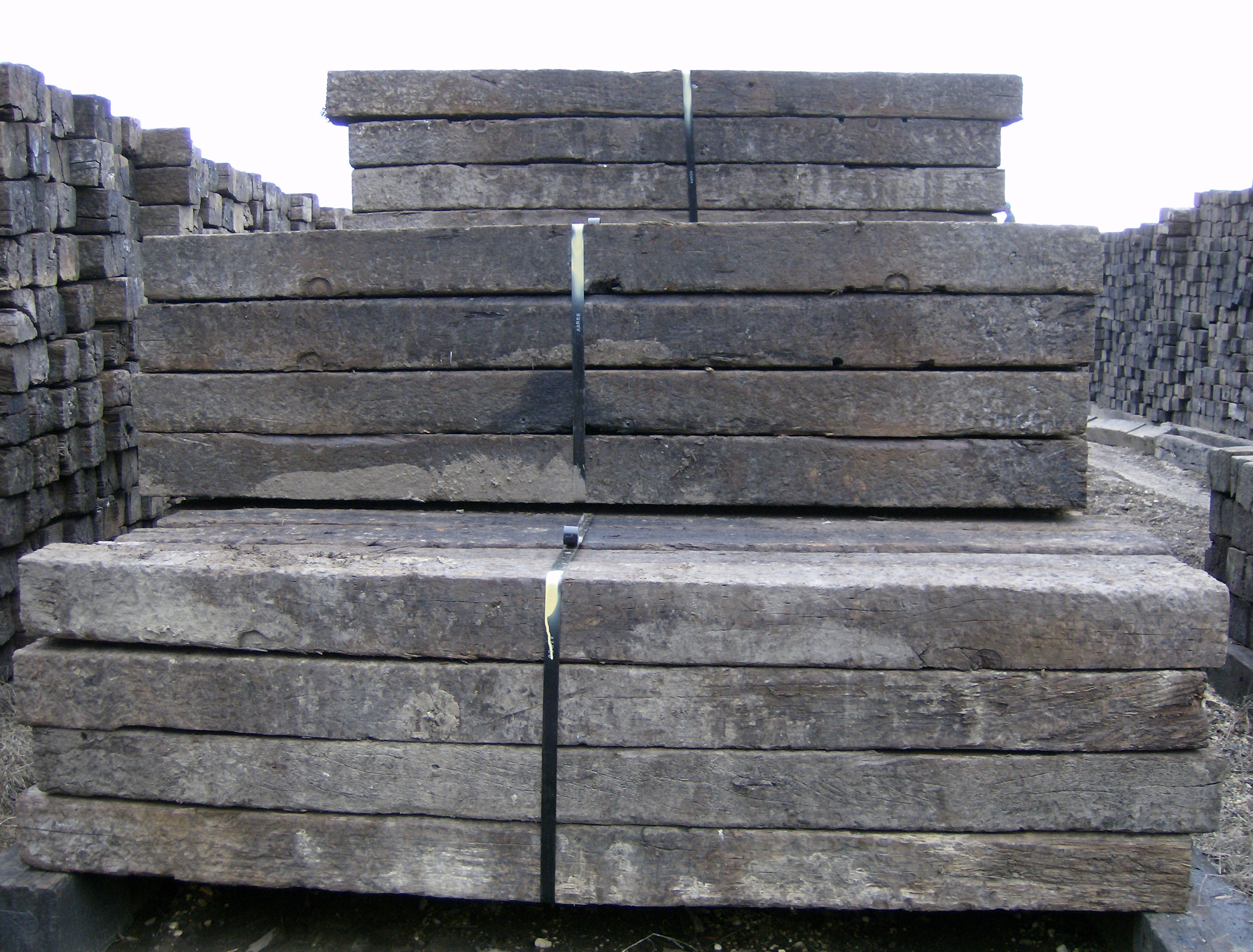 used railroad tie pictures national salvage service